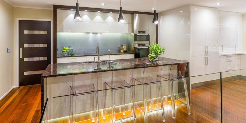 Clear glass splashbacks are the perfect addition to Adelaide's modern kitchens