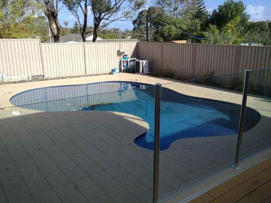 Semi Frameless Pool Fencing in Adelaide