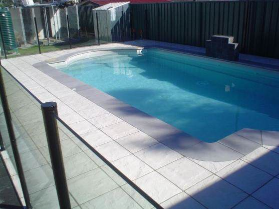Semi frameless pool fencing done by our team in Adelaide