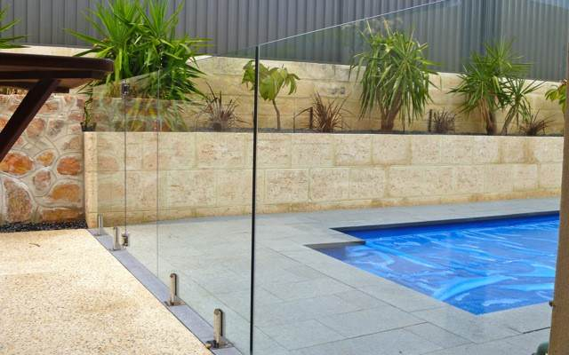 Our frameless glass pool fences are in adherence with Australian government's pool safety regulations
