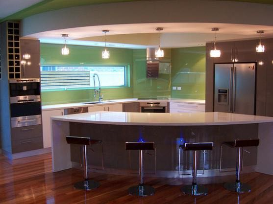 The glass splashbacks that we install come with a colour fade warranty
