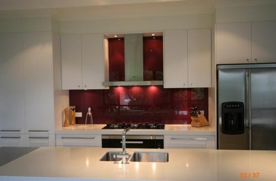 We can even make provision for light switches or power points in the splashbacks