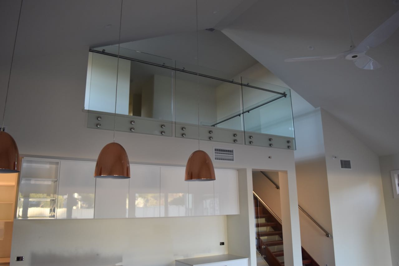 Adelaide Balustrading Guys specialize in frameless and semi frameless glass balustrades for residential staircases3